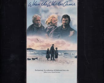 When the Whales Came - Fantasy - VHS - 1989 - Factory Sealed New-  Helen Mirren, CBS FOX