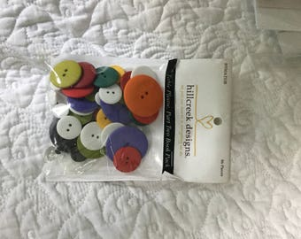 Hill creek Design buttons for Table Please part 2 pack86 pieces