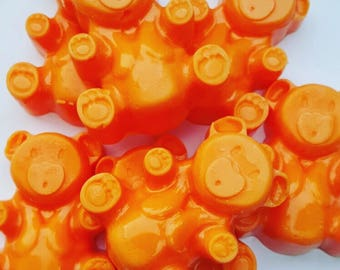Mimosa Mandarin Wax Melts, Teddy Tarts, Scented Wax Melts, Teddy Bear Wax Melts, Novelty Wax Melts,