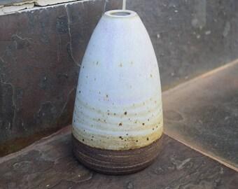 White Handmade Ceramic Vase, Bud Vase, Flower Vase, Art Piece, Flower Pot