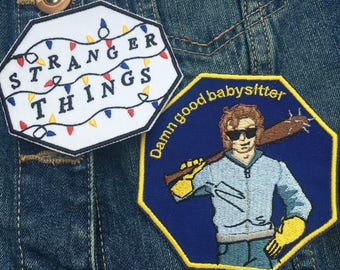 Stranger Things Embroidery Patches