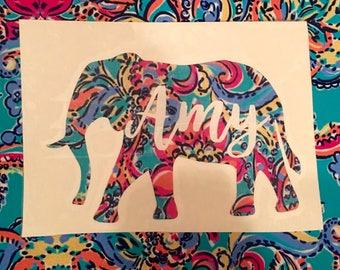Custom Elephant decal