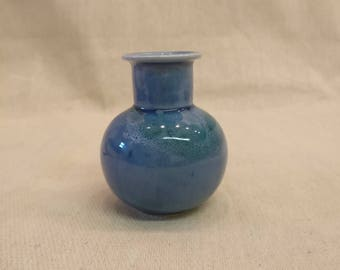"Lamorna Pottery Vase, 4"" tall"