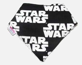 Baby Bandana Bib Star Wars Logo