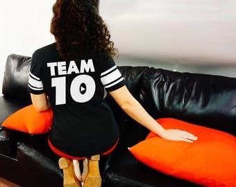 Team 10 Unisex T-shirt - Tshirt for Her - Unisex t-shirt