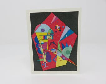 10 Abstract Cards//cards//hand made//fun cards