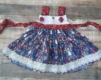 Alice in Wonderland Knot Dress