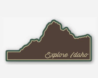 Explore Idaho - Sticker/Decal