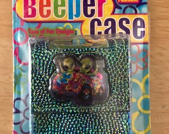 Vintage Lisa Frank Zoomer & Zorbit Pager Beeper Case