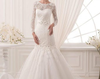 Wedding dress ''Hanna'' from NYC Bride, made in Europe