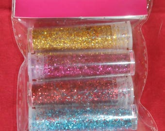 Set of diamantines ultra fine glitter