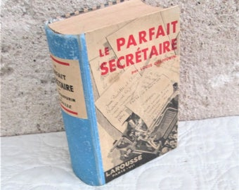 Vintage French Book, correspondence books, how-to books for offices, letter writing, vintage letters