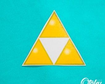 The Legend of Zelda Triforce Temporary Tattoo by Otaku Ink