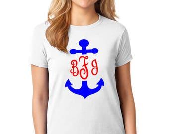 Monogrammed Anchor T-shirt