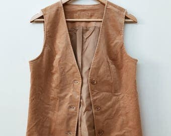 Camel Brown Vest