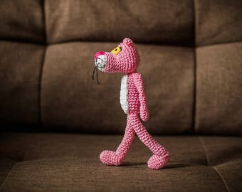 Pink Panther Amigurumi
