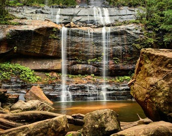 Landscape Photography Waterfall Two