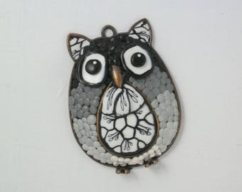 OWL pendant, OWL PIECE for creating Owl 2