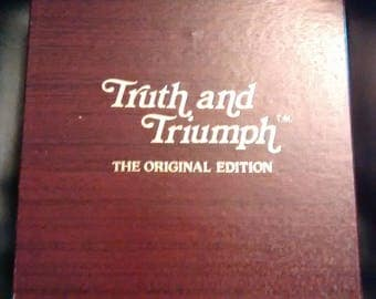 Vintage Truth And Triumph - The Original Edition (1984