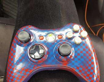 Xbox 360 Custom Paint And 9mm button mod