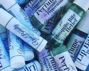 Lip Balm, Peppermint, Essential Oils, All Natural, Beeswax