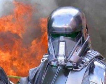 DTx2 Cast Resin Death Trooper Helmet