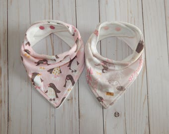 Baby girl bandana bibs, Bandana bibs girls, bandana bib set, Drool bibs, Baby shower gift