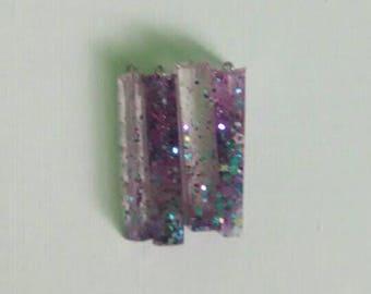 Glitter pendants
