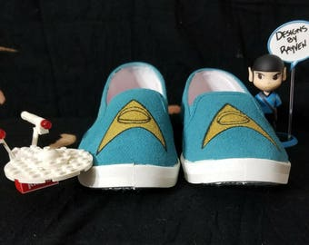 Mr. Spock's Science Officer Slippers