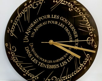 Clock: Lord of the rings (Lord of the Rings)