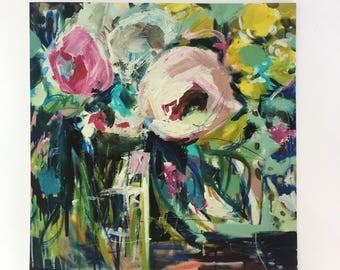 High Quality Premium Giclee Fine art floral home decor PRINT