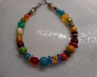 Funky Necklace - One of a Kind! OOAK - Handmade