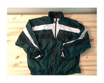 Mens Vintage Nike Windbreaker Track Jacket XL