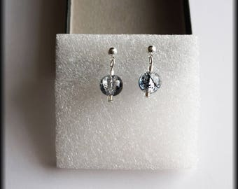 Iridescent Pearl Earrings