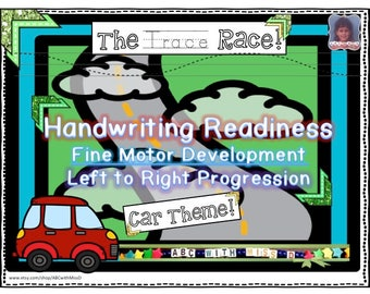 Preschool Tracing Worksheets for Printing and Handwriting Practice-Car Truck Travel Theme-Learning Printable-Classroom-Homeschool-Teaching
