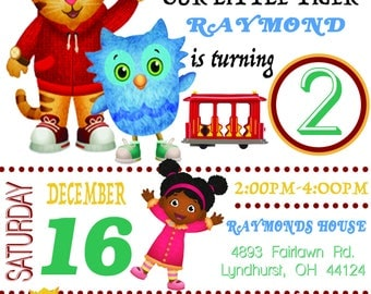 Daniel The Tiger Birthday