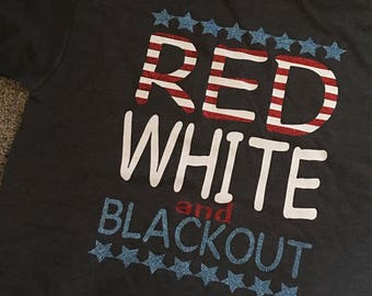 red white and blackout