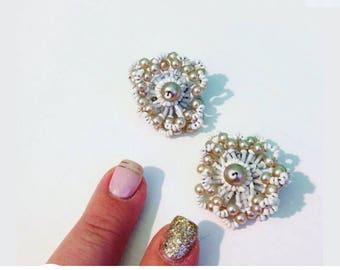 Vintage 60 years Earrings! Vintage Earrings 60s