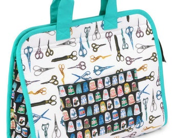 Maker's Tote Kit featuring Thimbles and Threads