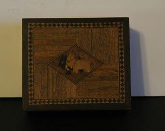 Inlay Jewelry Box