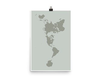 Nasa earth at night poster earth from space buckminster buckminster fuller dymaxion map poster dymaxion map projection world map wall art projection gumiabroncs Choice Image