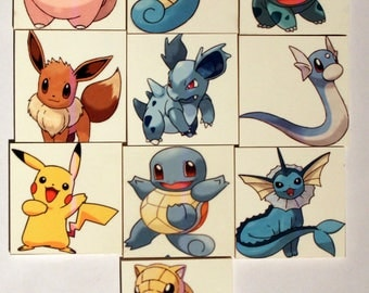 Game memory Pokemon 20 pieces from 2 years