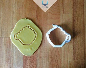 Coffee and Cream Cookie Cutter | Exclusive Dough stamps