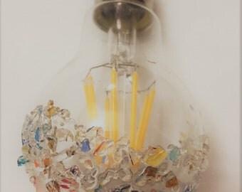 MURANO glass made in italy - lamp for italian design chandelier led 8w e27