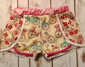Boho size 6 vintage bike shorts