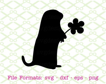 groundhog svg dxf eps png digital cut files for cricut silhouette
