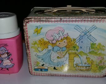 1970s Polls Pal lunch box and thermos