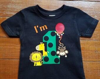 Custom made kids Birthday Shirts