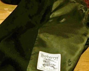 Burberrys LONDON/Burberry/Jacket/women/blazer/blue/winter/Made in England/jacket/Blouson/Golden buttons