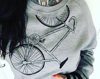 "Sweatshirt ""Bike"""